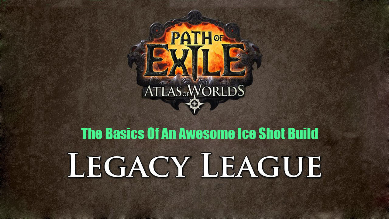 The Basics Of An Awesome Ice Shot Build