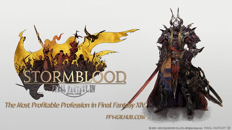 The Most Profitable Profession in Final Fantasy XIV - ff14gilhub com