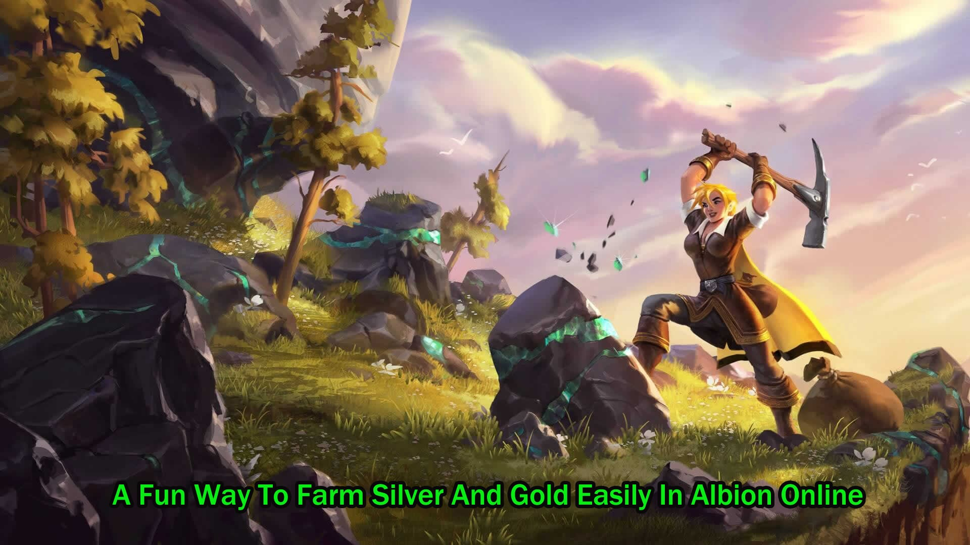 A Fun Way To Farm Silver And Gold Easily In Albion Online