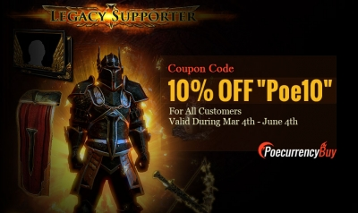 PoeCurrencyBuy New Poe Path activity 10% off