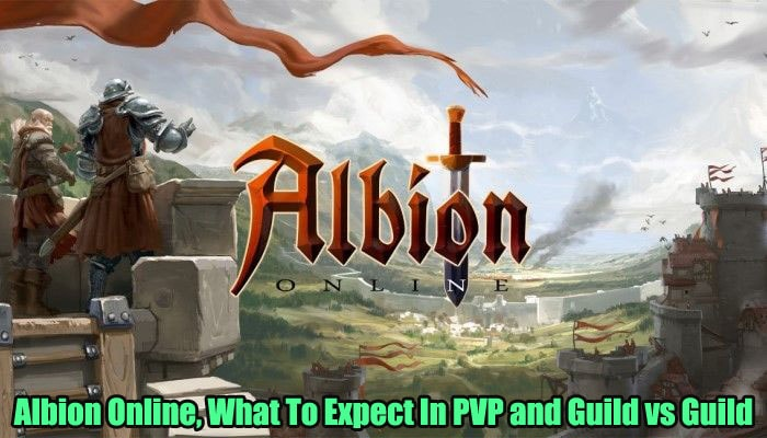 Albion Online, What To Expect In PVP and Guild vs Guild Content