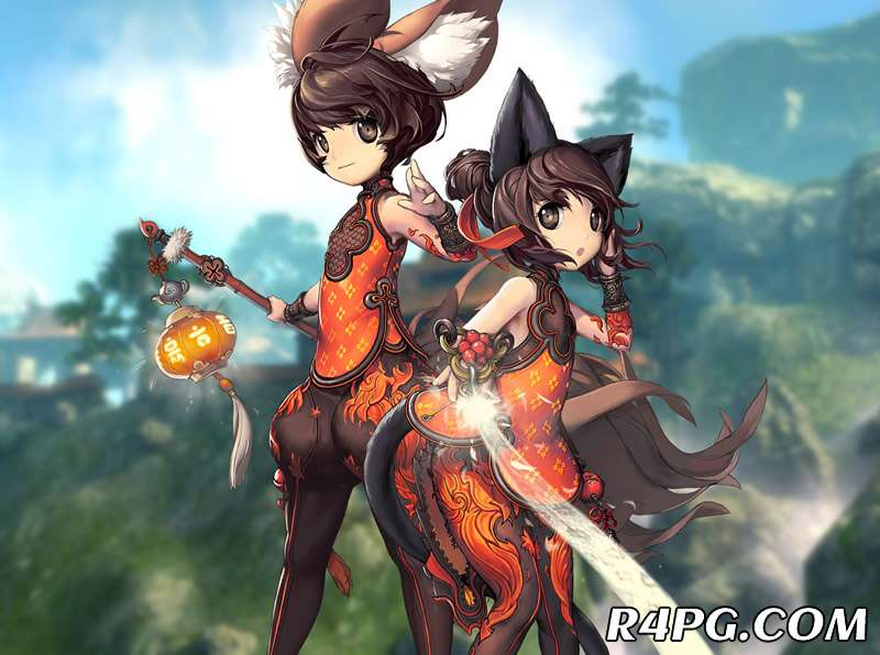 Blade And Soul: Use Sunflower for AOE Purpose