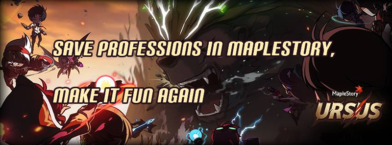 Save Professions in MapleStory, Make It Fun Again