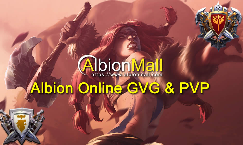 Albion Online Guild VS Guild  PvP Guide Gameplay Video