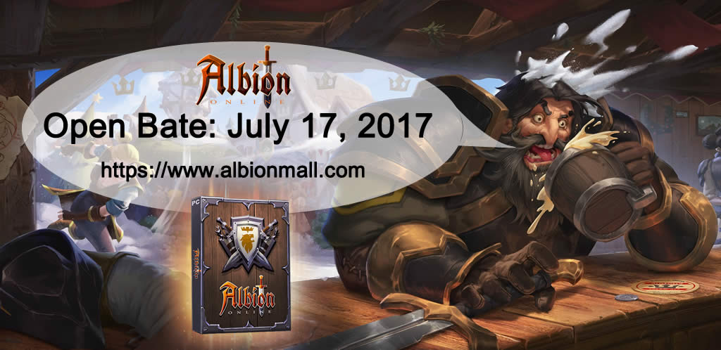 Albion Online Open Bate on July 17, 2017
