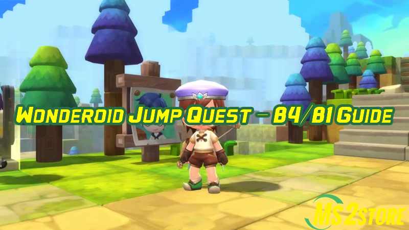 MapleStory Wonderoid Jump Quest - B4/B1 Guide