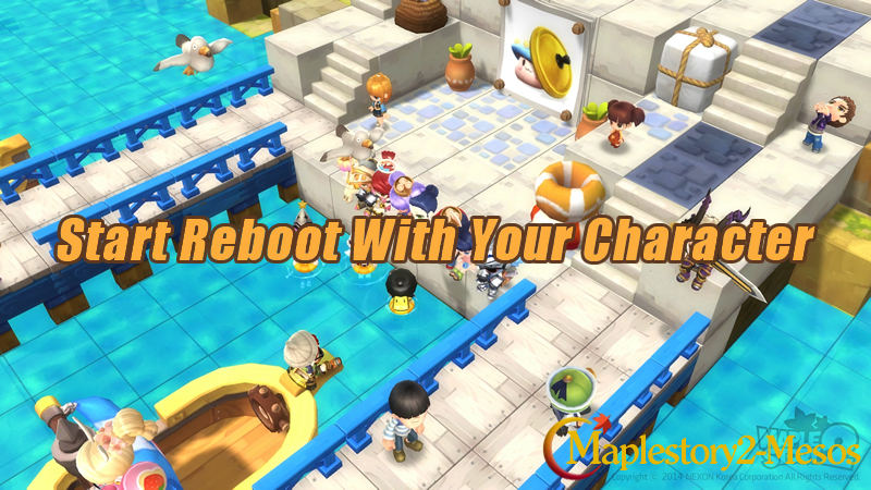 MapleStory: Start Reboot With Your Character