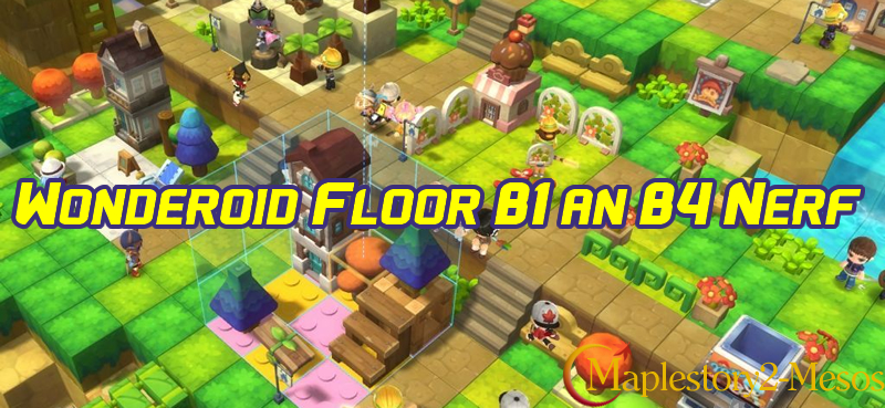 MapleStory Wonderoid Floor B1 an B4 Nerf