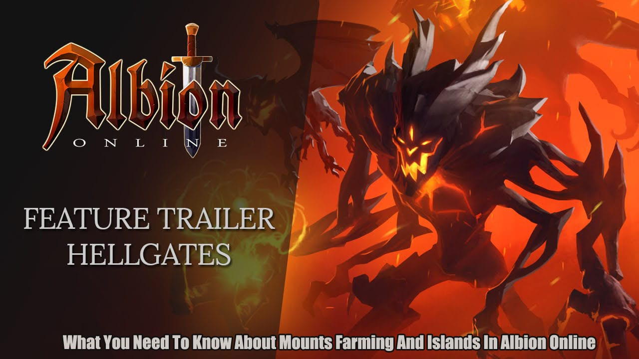 What You Need To Know About Mounts Farming And Islands In Albion Online!