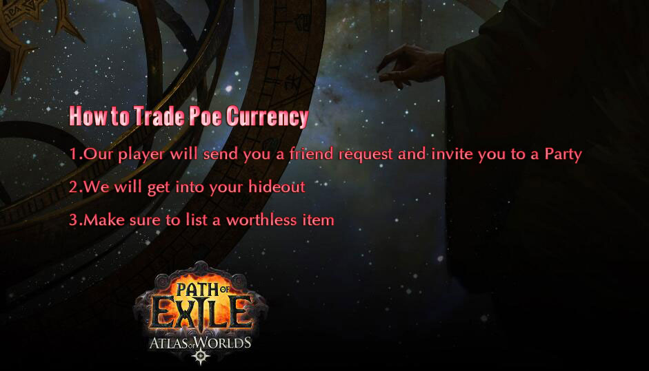 How to Trade POE Currency