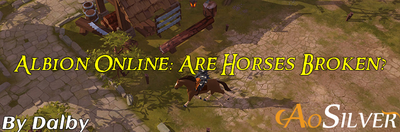 Albion Online: Are Horses Broken?