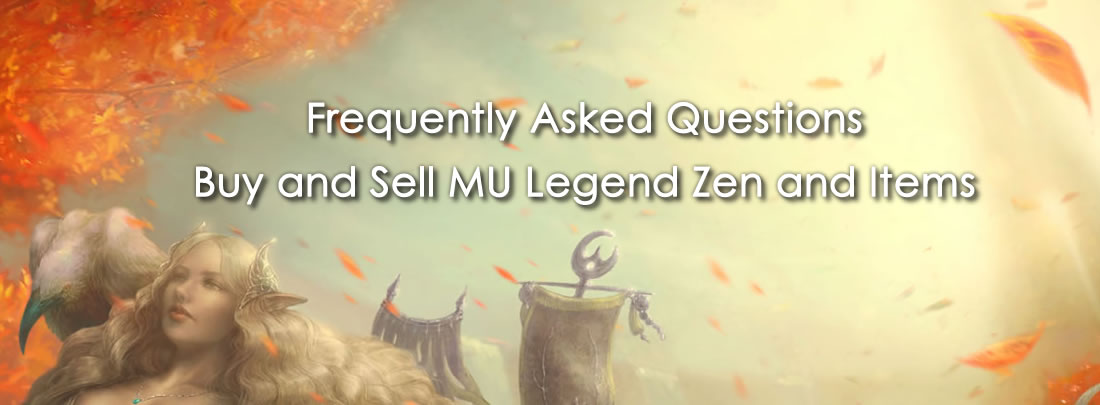 FAQ: buy Cheap MU Legend Zen and Items in R4PG