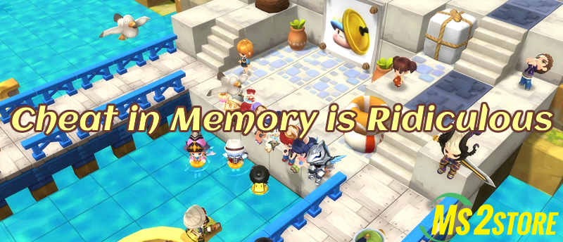 MapleStory: Cheat in Memory is Ridiculous