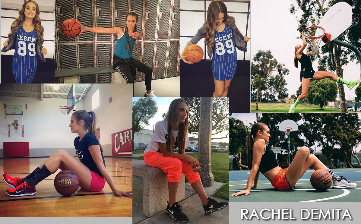 RACHEL DEMITA: All you need is a basketball, a wall and yourself