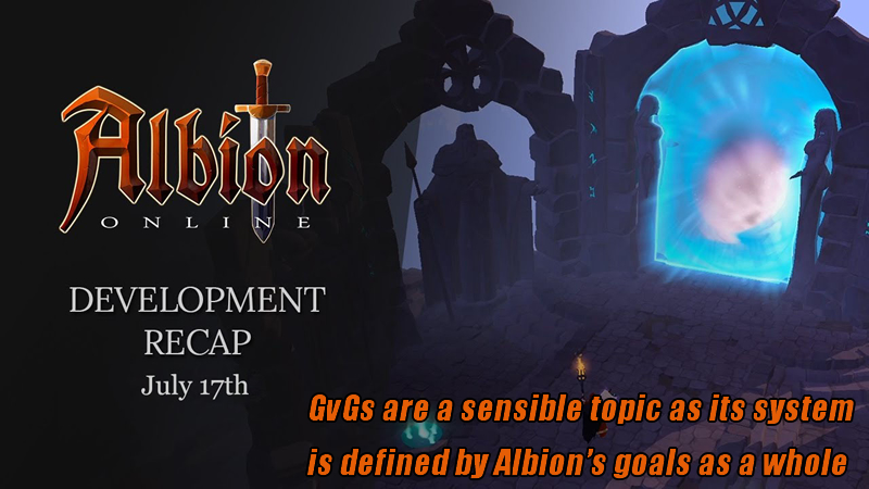 GvGs are a sensible topic as its system is defined by Albion
