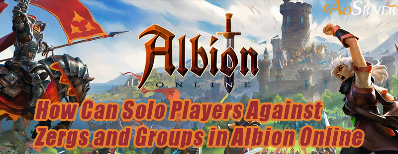How Can Solo Players Against Zergs and Groups in Albion Online