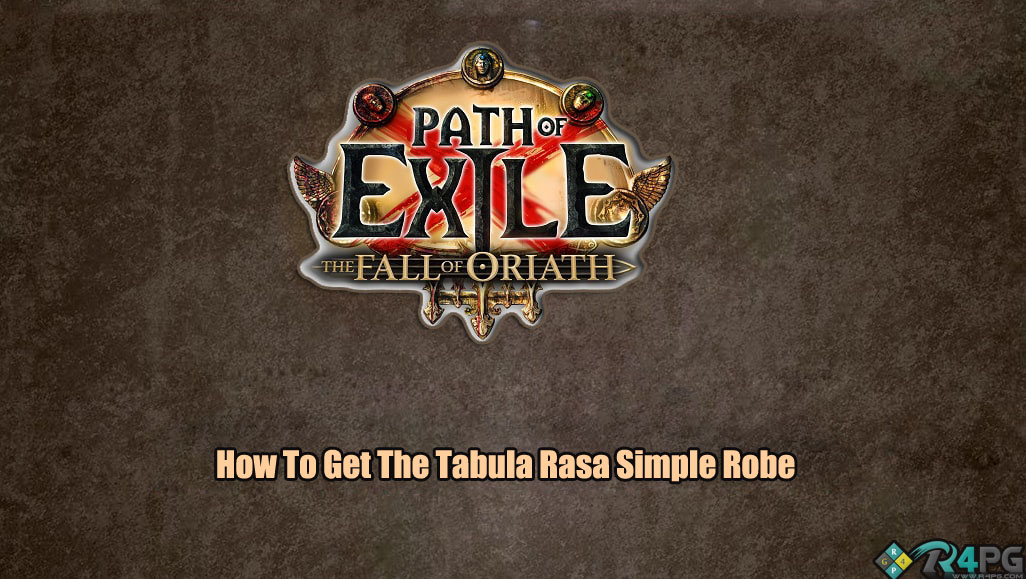 How To Get The Tabula Rasa Simple Robe