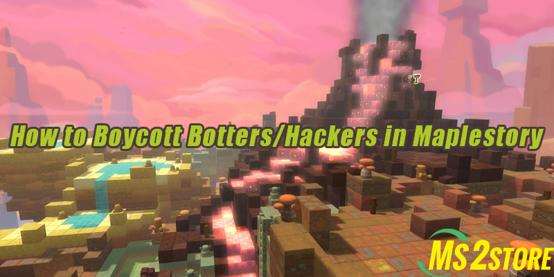 How to Boycott Botters/Hackers in Maplestory