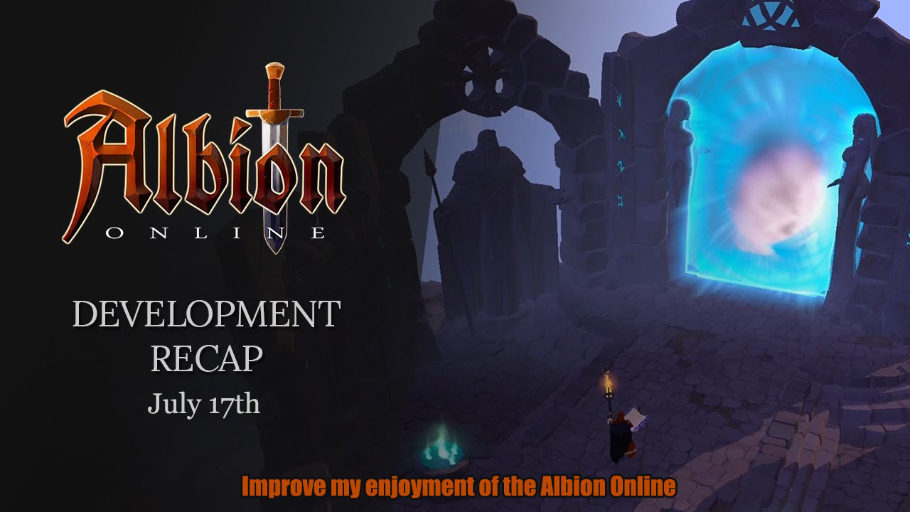 Improve my enjoyment of the Albion Online