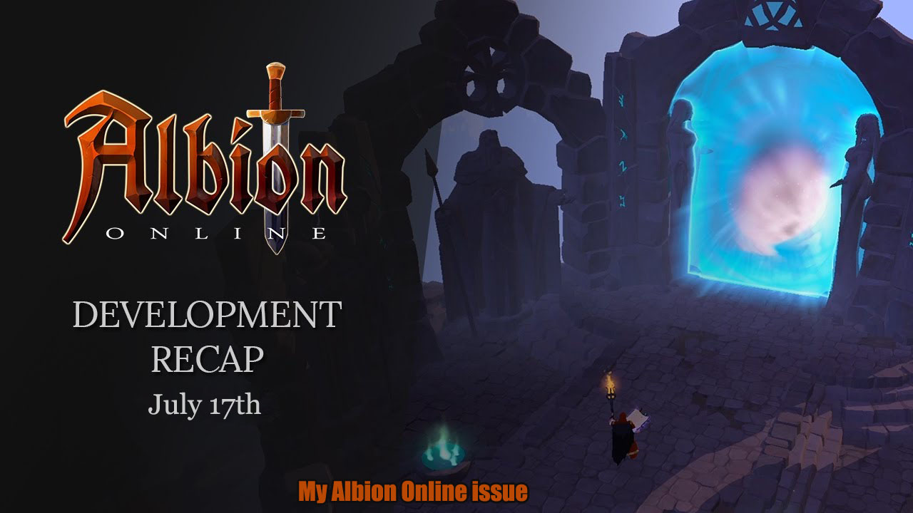 My Albion Online issue