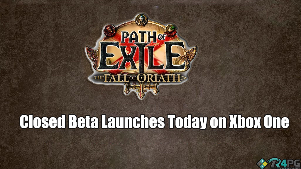 Path Of Exile Closed Beta Comes To Xbox One