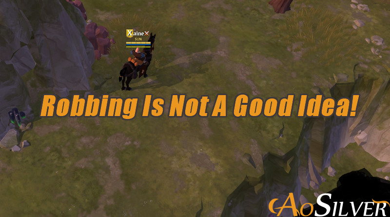 Robbing Other Players in Albion Is Not A Good Idea