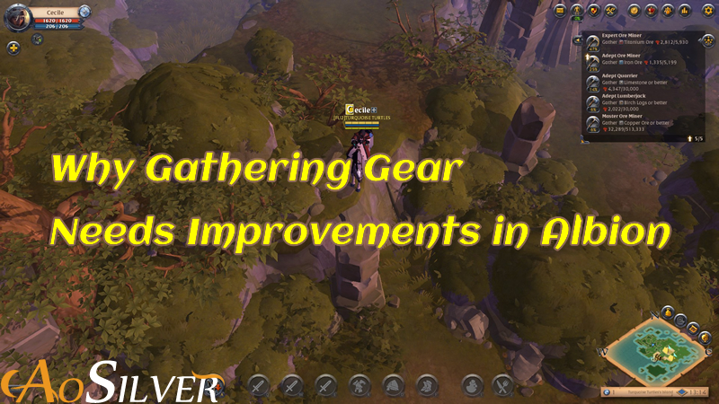 Why Gathering Gear Needs Improvements in Albion