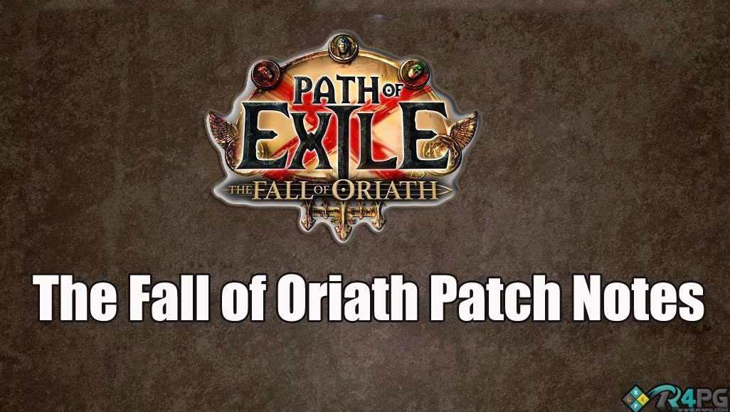 Path Of Exile 3.0 - Fall Of Oriath Patch Notes Highlights