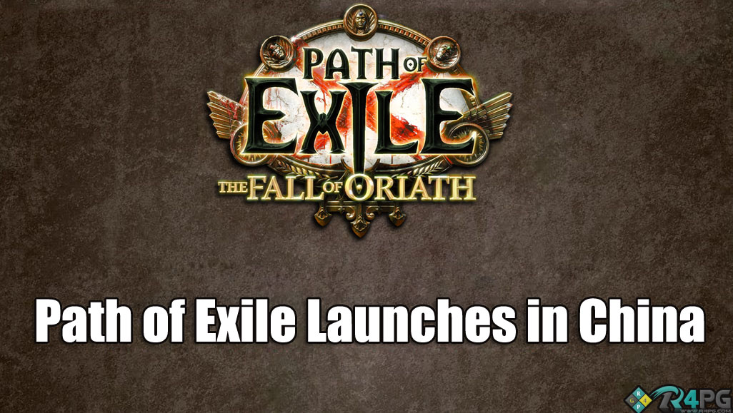 Path Of Exile Launches In China!!!