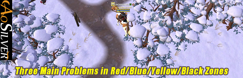 Albion Online: Three Main Problems in Red/Blue/Yellow/Black Zones