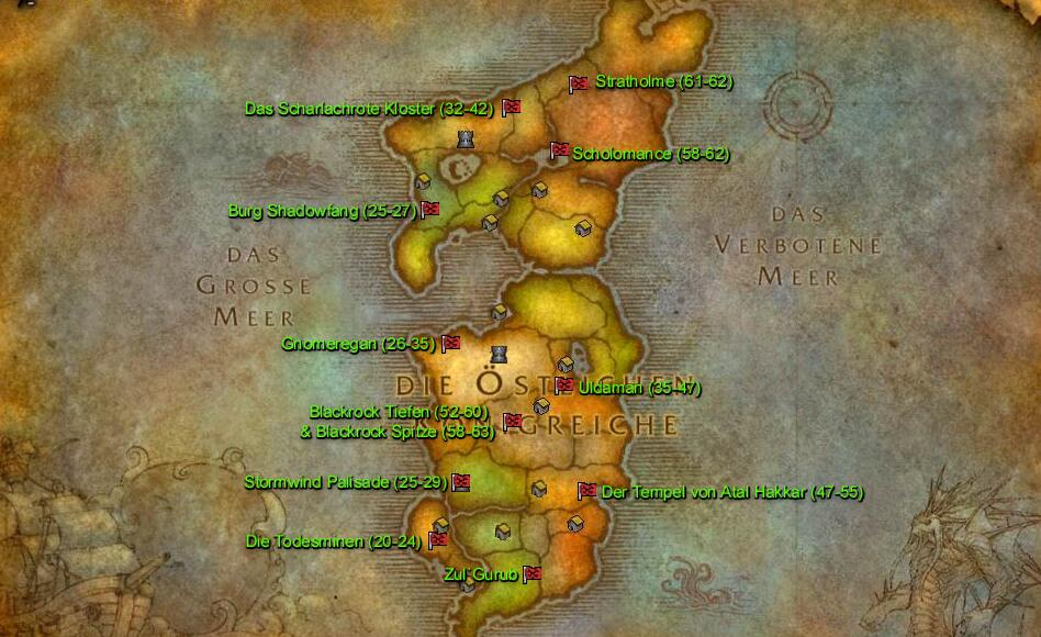 Private WOW TBC Warmane Dungeons & Raids