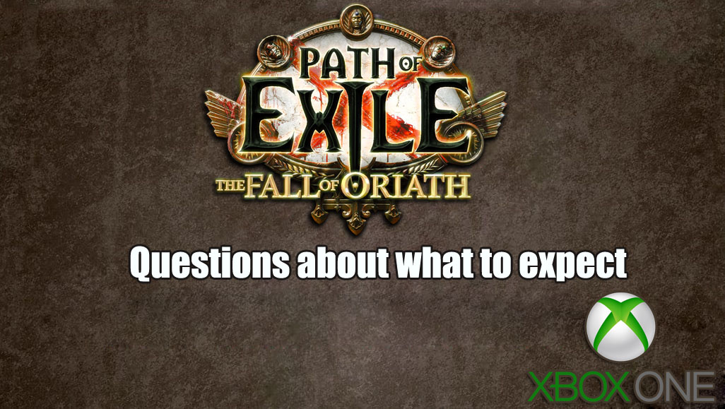 What To Expect From Path Of Exile On Xbox One