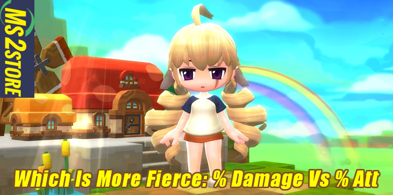 Which Is More Fierce: % Damage Vs % Att