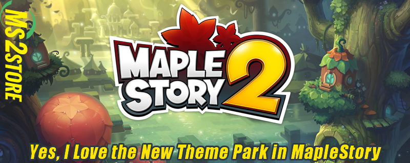 Yes, I Love the New Theme Park in MapleStory