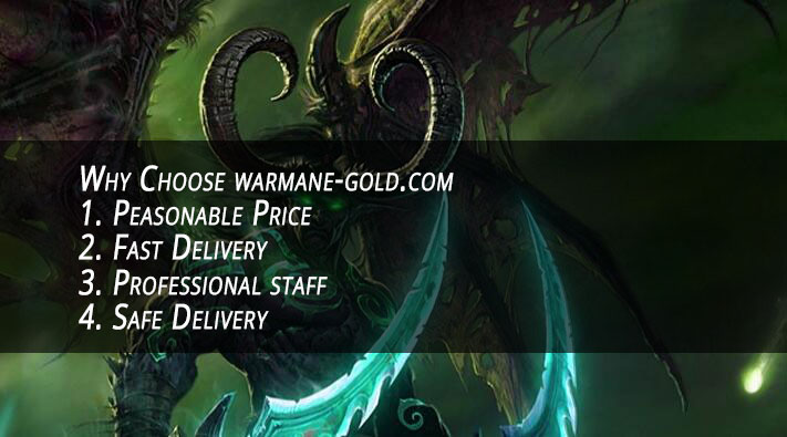 Why Choose warmane-gold.com