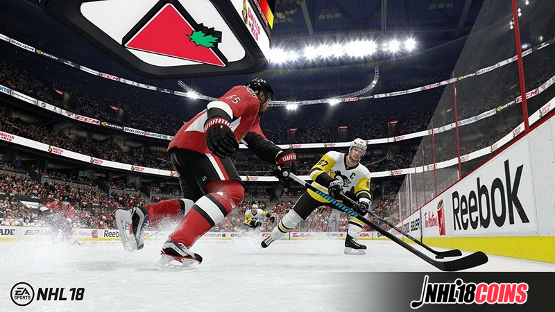 NHL 18 newly added features