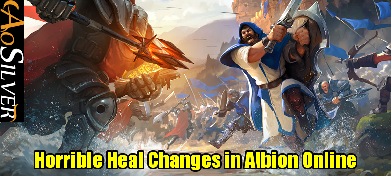 Horrible Heal Changes in Albion Online