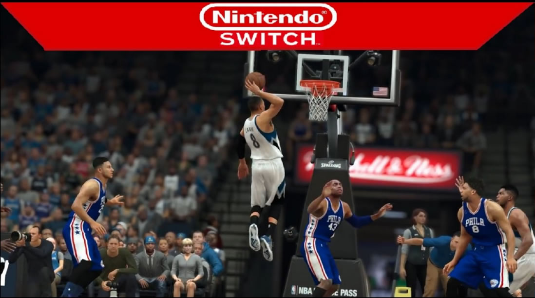 "Switch ""NBA 2K18"" need 6.8 GB free space"