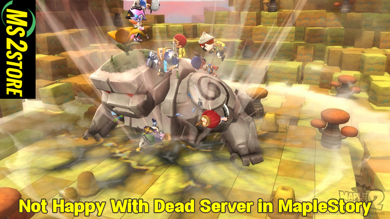 Not Happy With Dead Server in MapleStory - ms2store com