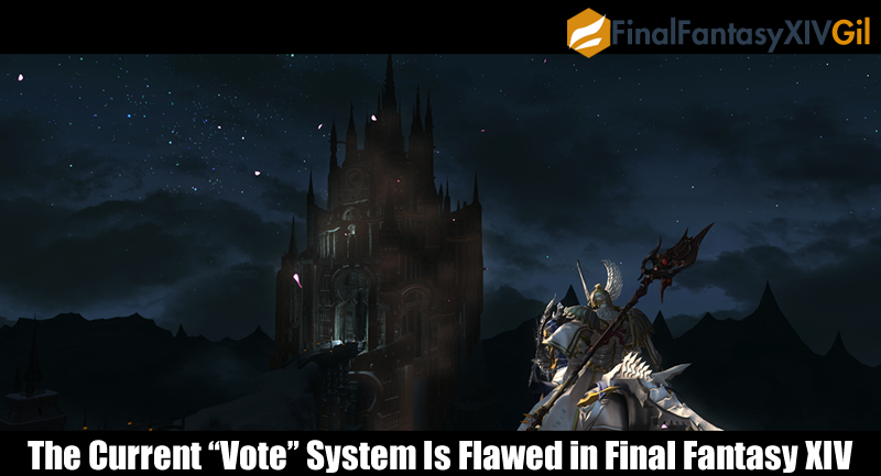 "The Current ""Vote"" System Is Flawed in Final Fantasy XIV"