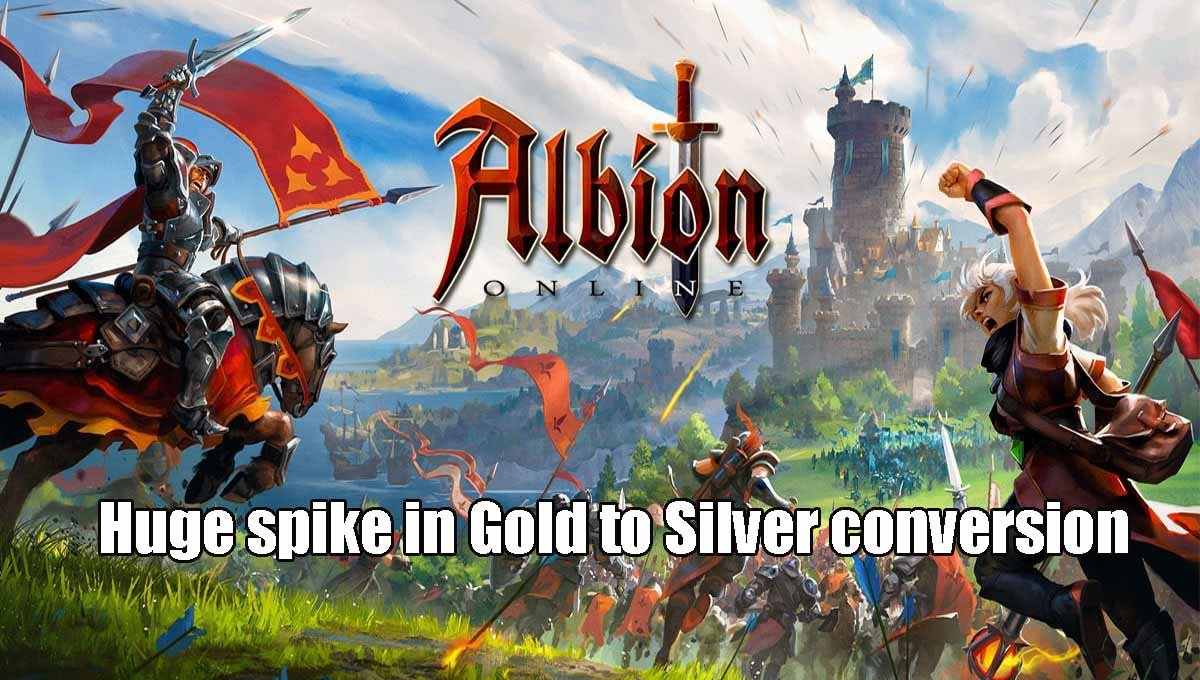 What Is The Reason For The Gold To Silver Spike In Albion Online