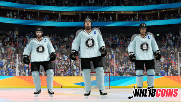 NHL 18: Come and experience