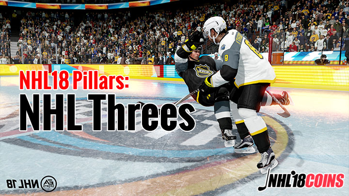 NHL18 pillars: NHL Threes