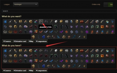 How to get path of exile Jeweller`s Orb