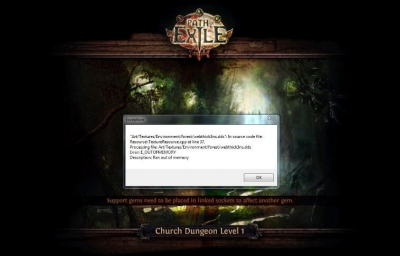 Path of Exile client cannot load