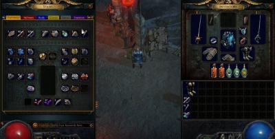 Poe Currency Stash Tab for mass dumping of small items