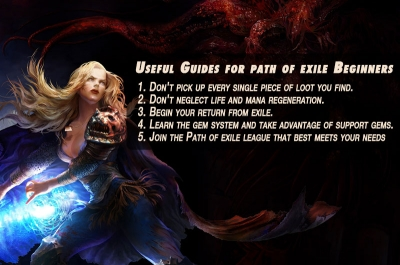 Useful Guides for path of exile Beginners