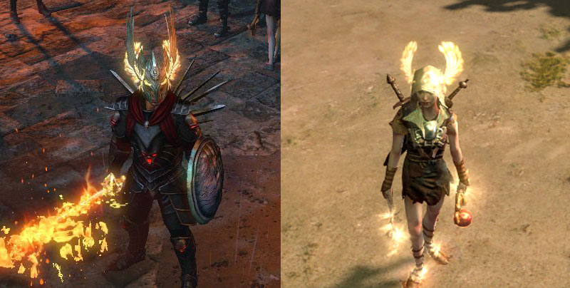 Get Path of Exile Victorious Wings Helmet for free