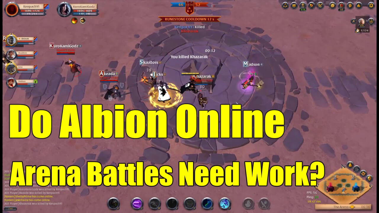 Albion Online Problems do albion online arena battles need work? - albionmall