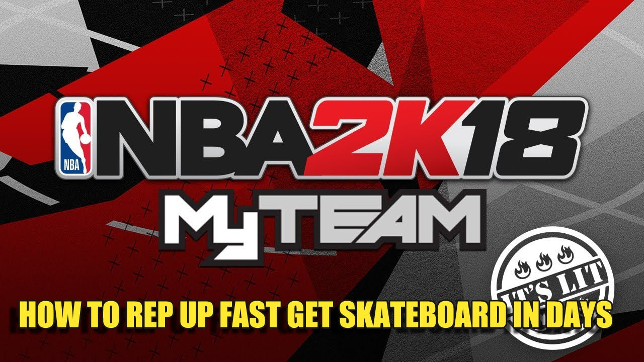 Getting XP So You Can Get The Skateboard In NBA 2K18